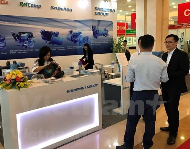2018年越南国际暖通及空调制冷展览会吸引全球200多个品牌参展 hinh anh 1