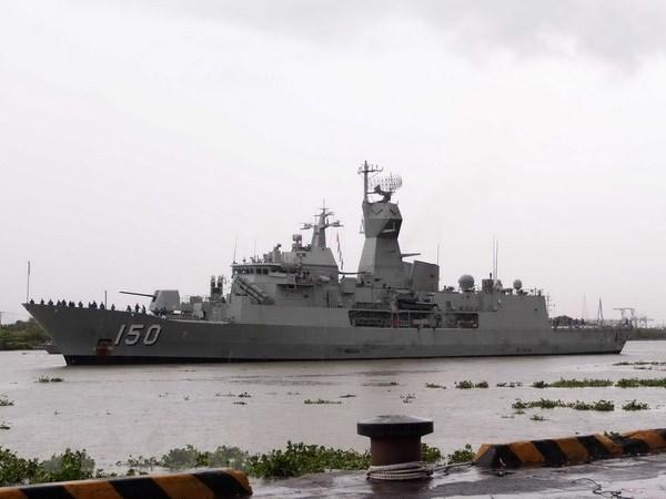 澳大利亚海军对胡志明市进行访问 hinh anh 1