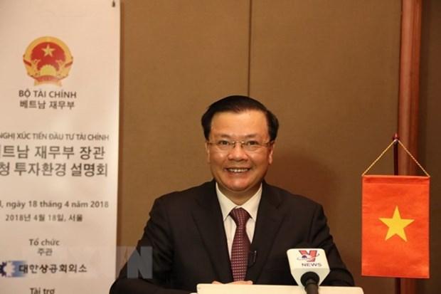 越南高度评价韩国投资商的潜力 hinh anh 1