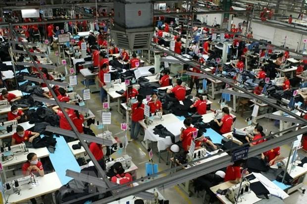 2018年越南纺织品服装出口额可达350亿美元 hinh anh 1