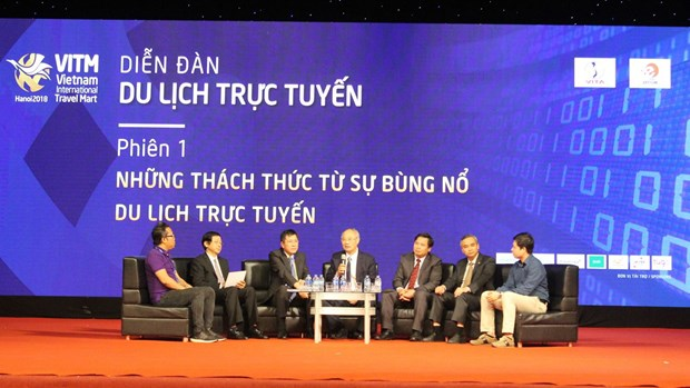 越南推动在线旅游服务业发展 hinh anh 1