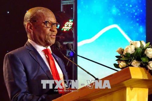 南非共和国国庆节24周年纪念活动在胡志明市举行 hinh anh 1