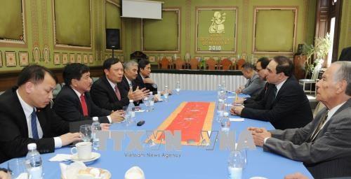 越南与墨西哥加强对外通讯报道工作经验交流 hinh anh 1