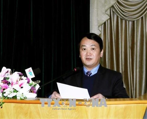 越南祖国阵线领导会见中国上海市政协代表团 hinh anh 1