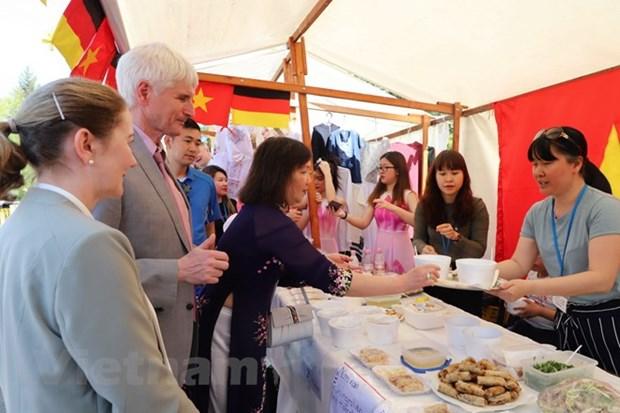 越南参加在柏林举行的2018年德利卡国际美食节 hinh anh 1