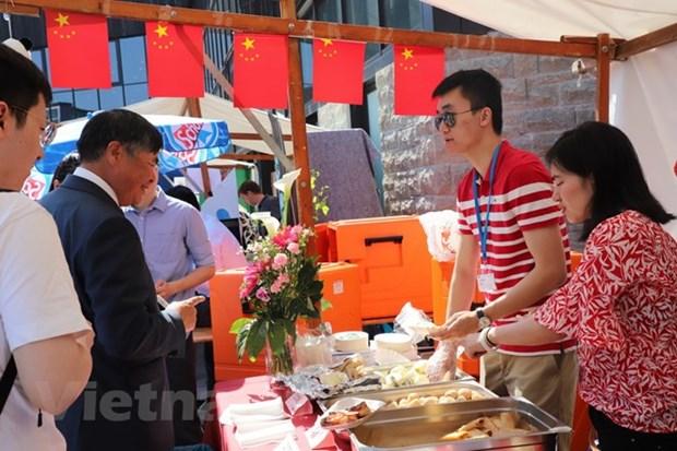 越南参加在柏林举行的2018年德利卡国际美食节 hinh anh 2
