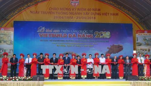 2018年越南岘港市国际建材展览会在岘港市拉开序幕 hinh anh 1