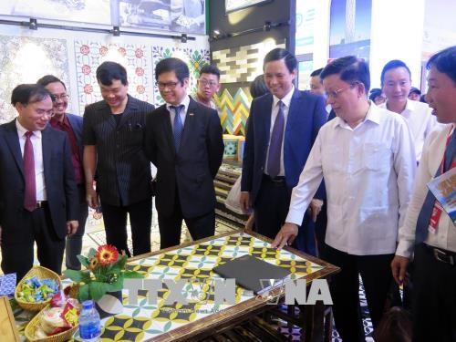 2018年越南岘港市国际建材展览会在岘港市拉开序幕 hinh anh 2