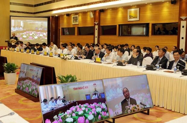 阮春福总理:改变进出口的战略思维模式 促进出口活动 hinh anh 2