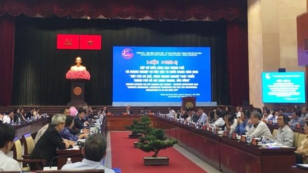 胡志明市领导呼吁外商投资企业同行实现可持续发展目标 hinh anh 1