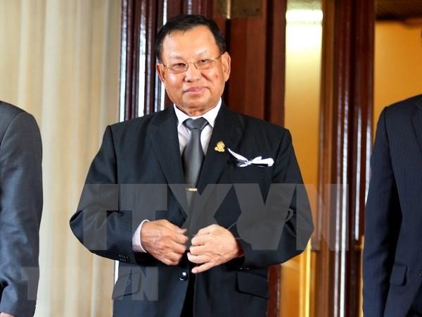 柬埔寨新一届参议院召开首次会议 赛冲再次当选为参议院议长 hinh anh 1