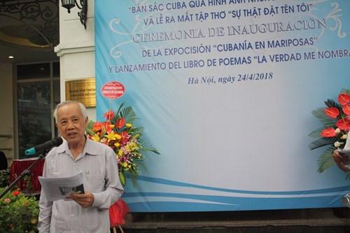 古巴英雄安东尼奥·格雷罗的诗集亮相河内 hinh anh 1