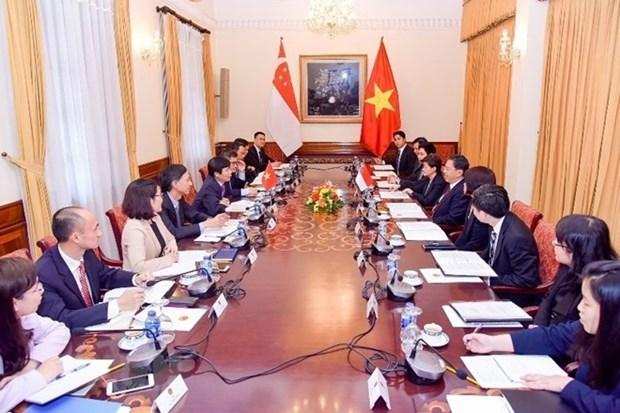 为越南与新加坡战略伙伴关系注入新动力 hinh anh 2