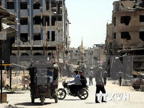 东盟外长就叙利亚局势发表声明 hinh anh 1