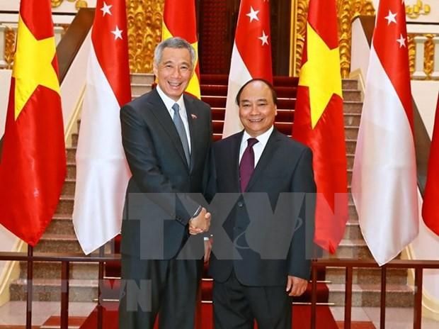 为越南与新加坡战略伙伴关系注入新动力 hinh anh 1
