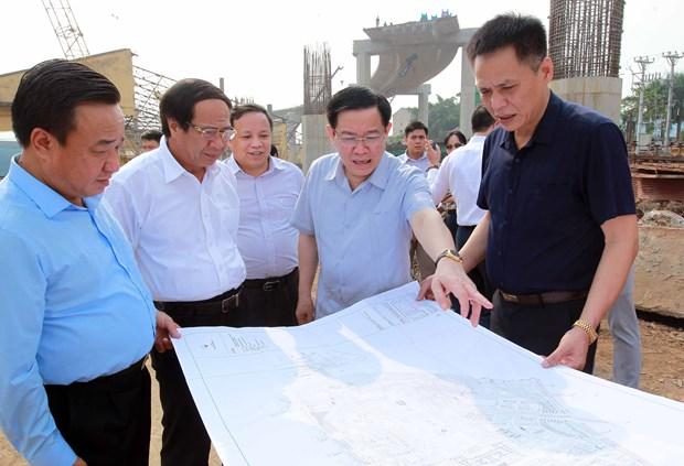 越南政府副总理王廷惠莅临海防市调研 hinh anh 2