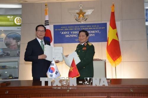 越南与韩国签署防务合作共同愿景声明 hinh anh 2