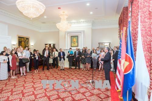 越南与美国国会加强合作关系 hinh anh 1