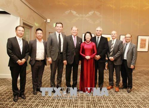 越南国家副主席邓氏玉盛会见美国首任驻越大使 hinh anh 2