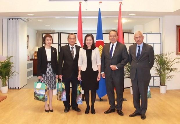 越南驻荷兰大使吴氏和担任驻海牙东盟委员会轮值主席一职 hinh anh 2