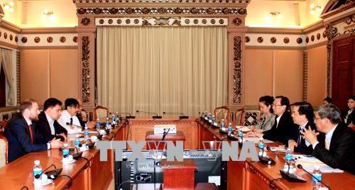 胡志明市加强与乌克兰的经济合作 hinh anh 1