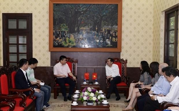 越南与中国媒体加强合作关系 hinh anh 1