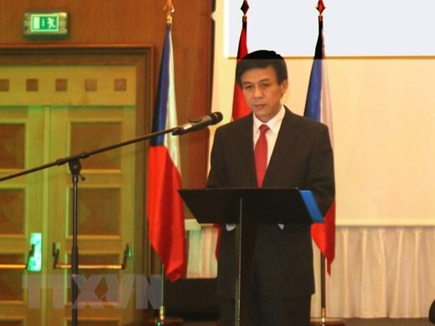 越南加强和捷克各地方之间的合作 hinh anh 1