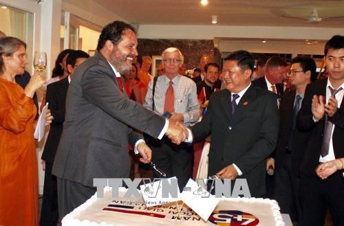 越南与荷兰建交45周年纪念典礼在胡志明市隆重举行 hinh anh 1