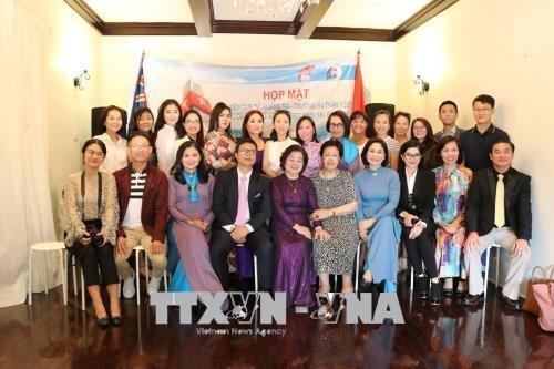 原越南国家副主席张美华与旅澳越南侨胞会面 hinh anh 1