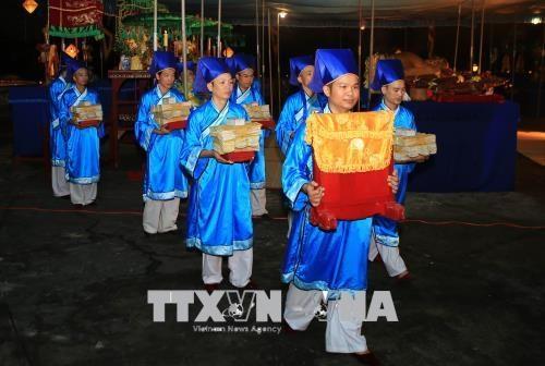 2018年顺化文化节:天地祭祀仪式隆重举行 hinh anh 1