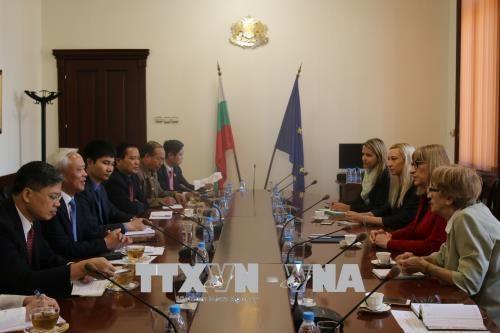 越南与保加利亚加强在多个领域的经验 hinh anh 1