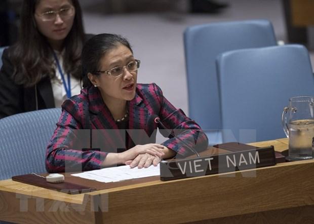越南呼吁联合国安全理事会参与解决以色列-巴勒斯坦冲突 hinh anh 1