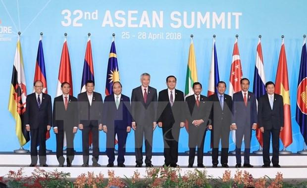 第32届东盟峰会: 再次彰显东盟合作和共同愿景 hinh anh 1