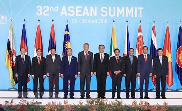 印尼对第32届东盟峰会取得的结果表示满意 hinh anh 1