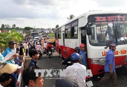 """4月29日越南全国交通事故""""三增加"""" hinh anh 1"""