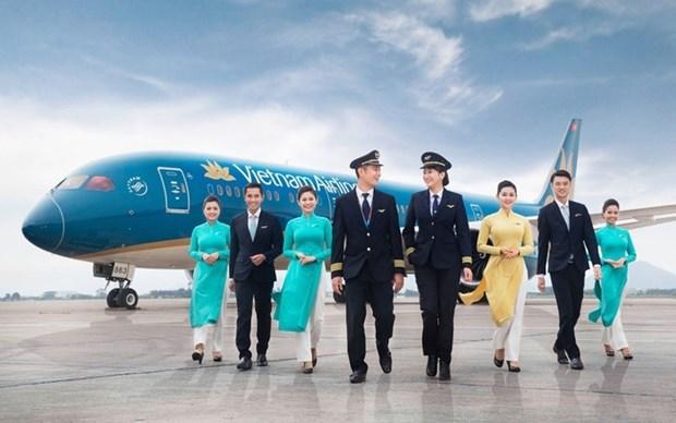 越南航空公司圆满实现2017飞行安全年 hinh anh 1