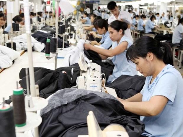 2018年前4月全国工业生产指数大幅增长 hinh anh 1