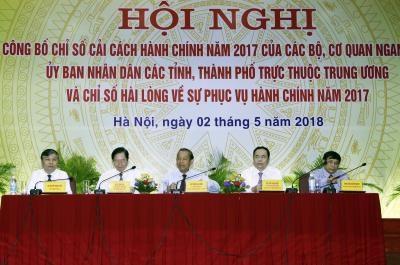 2017年越南行政改革指数结果揭晓 hinh anh 1