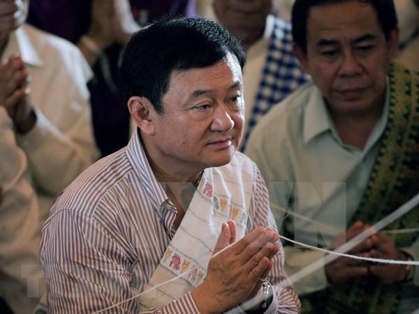 泰国外交部吊销前总理他信护照 hinh anh 1