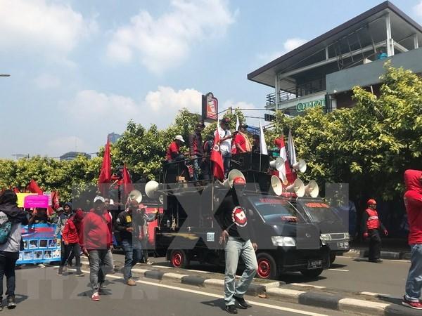 五·一国际劳动节:印尼劳工要求该国政府采取措施限制外籍劳工数量 hinh anh 1