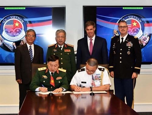 越南国防对外:通过和平方式提早保卫祖国的计策(第一期) hinh anh 2