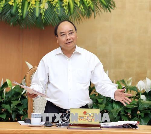 阮春福总理:确保法律草案制定工作如期进行 hinh anh 1