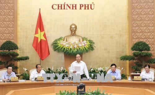 阮春福:政府成员和各部门领导需履职尽责 务实工作 hinh anh 1
