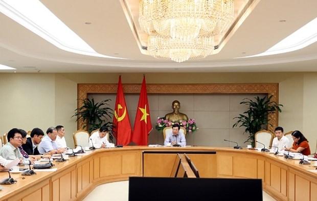 越南政府副总理范平明主持召开使用外国优惠贷款项目相关会议 hinh anh 1