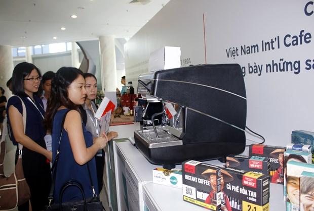 越南国际咖啡展吸引国内外100多家企业参展 hinh anh 1