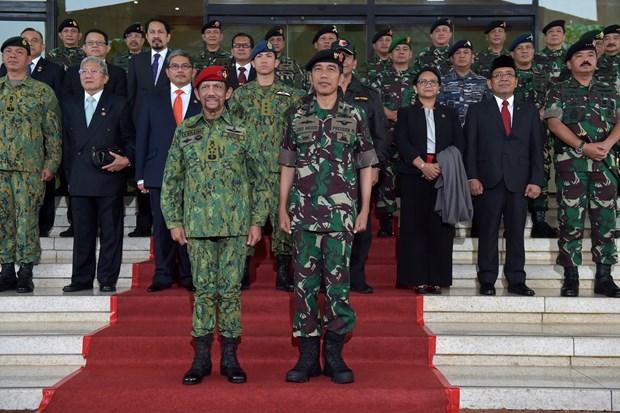 印尼与文莱加强多方面合作 hinh anh 2