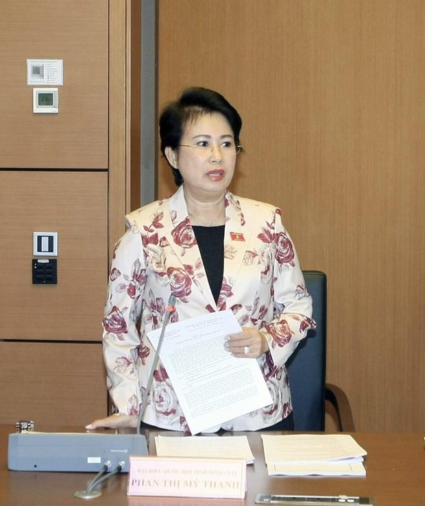 越共中央书记处对同奈省国会代表团团长潘氏美青给予纪律处分 hinh anh 1