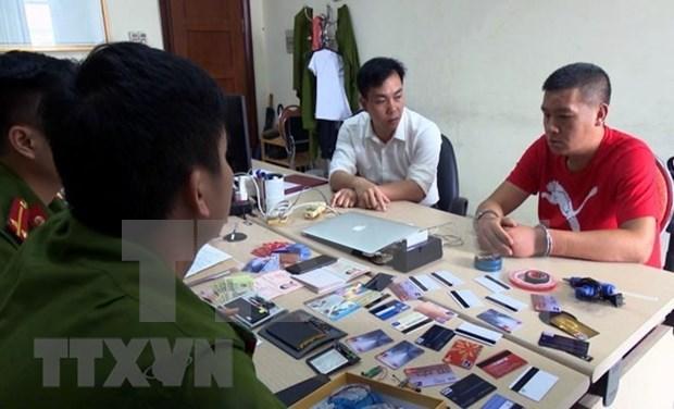 广宁省:一名中国人利用伪造银行卡取款被当场发现 hinh anh 1
