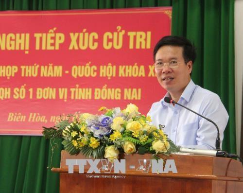 同奈省选民对反腐反贪的初步结果表示支持 hinh anh 1
