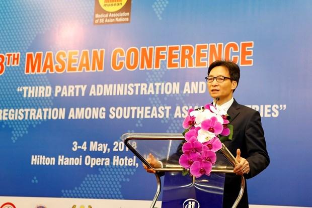 越南担任东南亚医学协会轮值主席 hinh anh 1